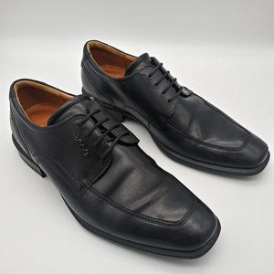 ECCO Men's Oxford  Dress Shoes US Size 8.5 Extra W